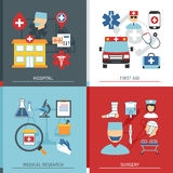 Medical Concept Set Royalty Free Stock Images