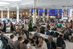 Medical Congress in Hotel Ossa. Rawa Mazowiecka, Poland. Stock Image