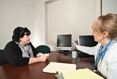 Medical Consultation Stock Image