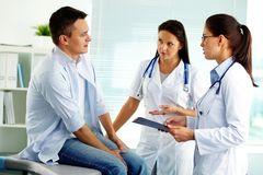 Medical consultation Royalty Free Stock Photos
