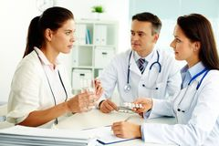 Medical consultation Stock Photography