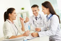 Medical consultation Stock Photos