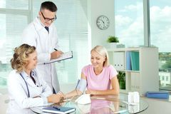 Medical consultation Stock Images