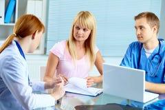 Medical consultation Royalty Free Stock Photo