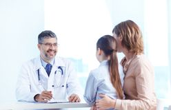 Medical consultation Royalty Free Stock Images