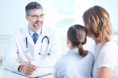Medical consultation Royalty Free Stock Image
