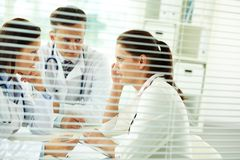 Medical consultation Royalty Free Stock Photography