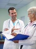 Medical consultation Stock Photo
