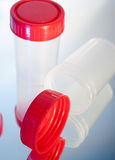 Medical containers Stock Image
