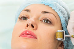Medical cosmetic procedure Stock Image
