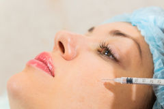 Medical cosmetic procedure Royalty Free Stock Photography