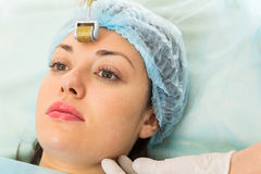 Medical cosmetic procedure Stock Photo