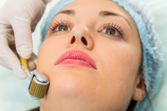 Medical cosmetic procedure Royalty Free Stock Images