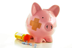 Medical costs Royalty Free Stock Image