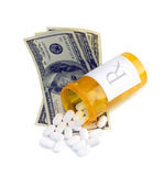 Medical Costs Royalty Free Stock Photos