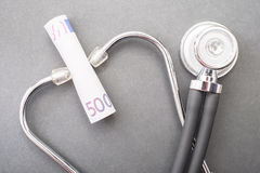 Medical costs Royalty Free Stock Photography
