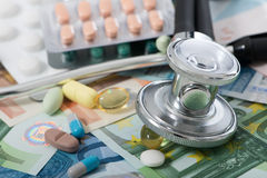 Medical costs Stock Photography
