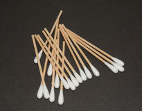 Medical cotton swabs Royalty Free Stock Photo