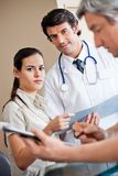 Medical Coworkers Standing Together Royalty Free Stock Photo