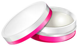 A medical cream. Illustration of a medical cream on a white background Stock Photography