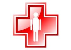 Medical cross Royalty Free Stock Photo