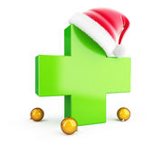 Medical Cross. On a white background Stock Photography