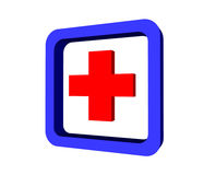 Medical cross sign Stock Photo