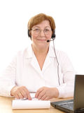 Medical customer service Royalty Free Stock Image