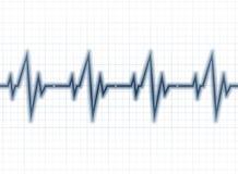 Medical design -  cardiogram Stock Photo