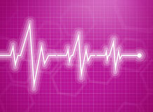 Medical design -  cardiogram Royalty Free Stock Photo