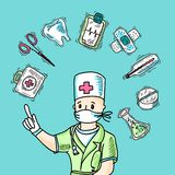 Medical Design Concept Stock Photography