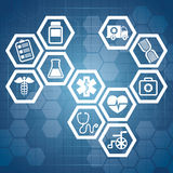 Medical design. Stock Image