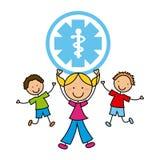Medical design. Medical graphic design , vector illustration Royalty Free Stock Photo