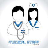 Medical design Royalty Free Stock Photos