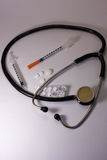 Medical devices, tablets Stock Image