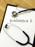 Medical diagnosis Stock Photography