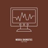 Medical diagnostic, checkup graphic design concept Stock Photography
