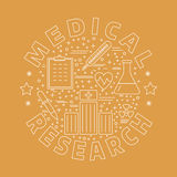 Medical diagnostic, checkup graphic design concept Stock Photo