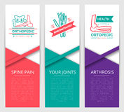 Medical diagnostic clinic banner template design Stock Photo