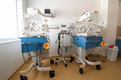 Medical-diagnostic equipment room Royalty Free Stock Photos