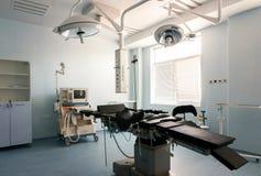 Medical-diagnostic equipment room. Therapeutic and diagnostic rooms with medical equipment stock image