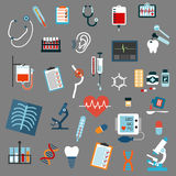 Medical diagnostics, testing and equipment Royalty Free Stock Photo