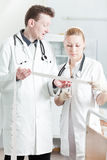 Medical discussion Royalty Free Stock Image