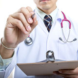 Medical doctor checking your healthy concept Royalty Free Stock Photography