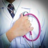 Medical doctor checking your healthy concept Stock Photos