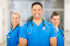 Medical doctor colleagues Stock Photos