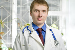 a medical doctor in hospital Stock Photo