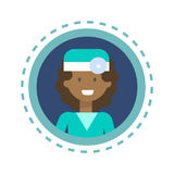 Medical Doctor Icon Clinics Hospital Medicine Worker Online Consultation Button Stock Photos
