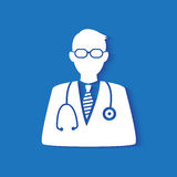 Medical doctor icon Stock Image