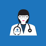 Medical doctor icon Royalty Free Stock Photography